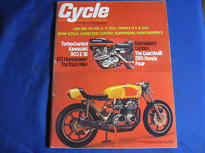 Cycle Magazine-Nov 1975-Can Am 175Mx2-Bmw R75/5-Yam Rs100C-Laguna Seca-Bonnevill