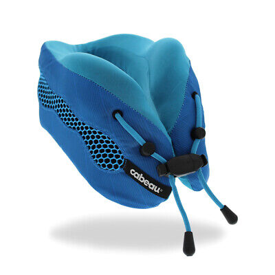 Cabeau Evolution COOL 2.0 Memory Foam Travel Pillow - BLUE- BRAND NEW!