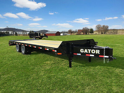 2019 Gator Equipment trailer / Flat Bed Trailer / Pintle Trailer 22000#