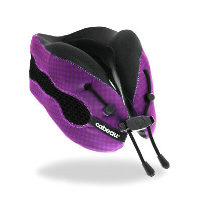Cabeau Evolution COOL 2.0 Memory Foam Travel Pillow - PURPLE- BRAND NEW!