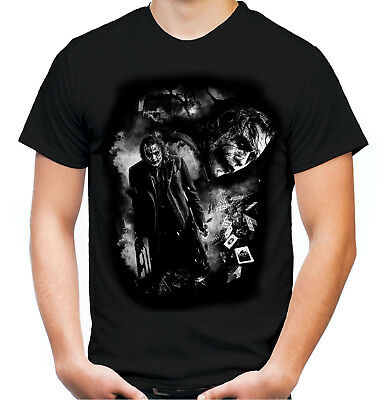 Joker T-Shirt | Dark Knight Heath Ledger Batman Bane Kult Suicide Squad | M8