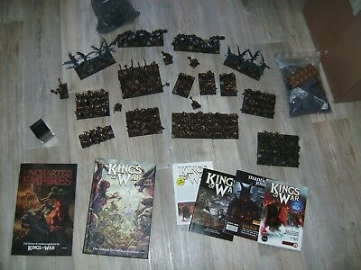Mantic, Kings of War, Warhammer - Armee der Zwerge des Abgrunds