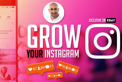 I Will Organically Grow Your Instagram