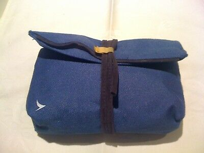 Cathay Pacific Toiletry Amenity Kit Bag Blue Business Airline