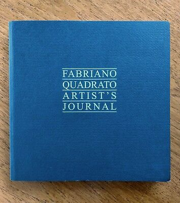 Fabriano Quadrato Artist's Journal 96 pages Ingres Pastel Paper 23x23cm