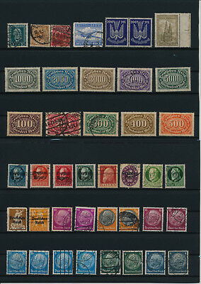 Germany, Deutsches Reich, Nazi, liquidation collection, stamps, Lot,used (XK 8)
