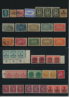 Germany, Deutsches Reich, Nazi, liquidation collection, stamps, Lot,used (XK 70)