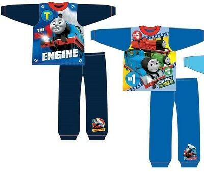 New! Boys Infants Thomas and Friends Character Pyjama Set PJs Nightwear Size Age