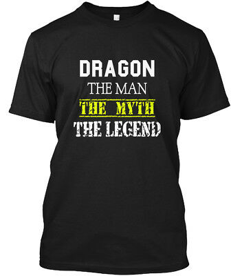 Trendsetting Dragon Scare - The Man Myth Legend Hanes Hanes Tagless Tee T-Shirt