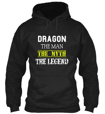 Comfy Dragon Scare - The Man Myth Legend Gildan Hoodie Gildan Hoodie Sweatshirt