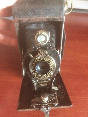 Vintage No2 Folding Autographic Brownie Camera