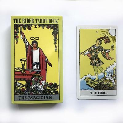 The Rider Tarot Cards Deck 78 Pcs English Edition Table Board Game New Design