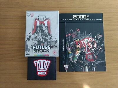 2000 AD The Ultimate Collection Subscriber Exclusive Sketch Book, DVD & Wallet