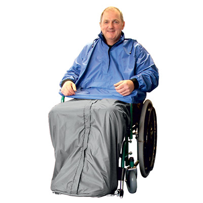Waterproof Wheelchair Cape With or Without Sleeves - Various Colours