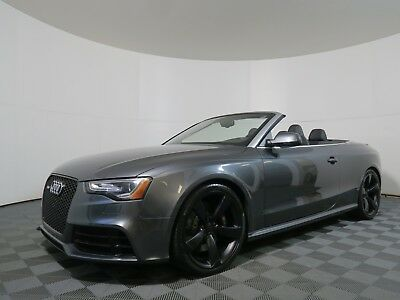 2014 Audi RS5 4.2L Coupe Quattro 2014 Audi RS5 4.2L CAB Quattro Premium Unleaded V-8 4.2 L/254