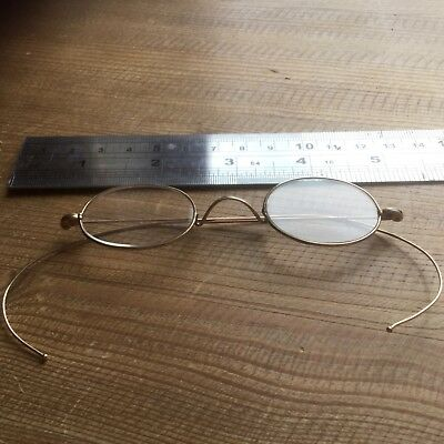 Antique Gold Filled Victorian Spectacles