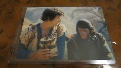 James Naughton signed autographed photo as Burke in Planet of the Apes TV Series