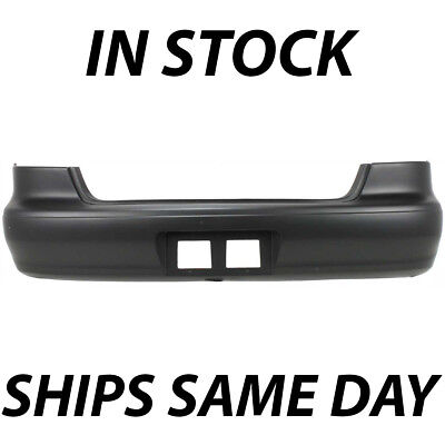 NEW Primered - Rear Bumper Cover Replacement for 1998-2002 Toyota Corolla Sedan