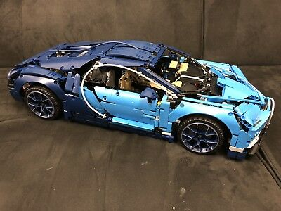 Lego Bugatti Chiron 42083 100% Complete With Decals