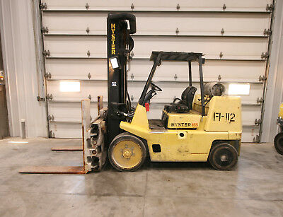 12788 Hyster 15,000 lbs. Capacity Forklift, Model S155XL2