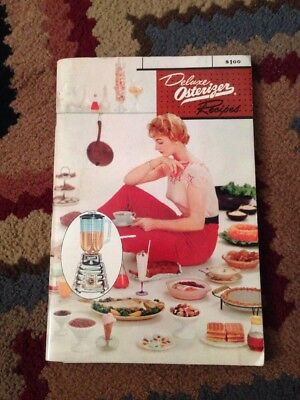 Vintage 1963 Deluxe Osterizer Recipe Book Cookbook