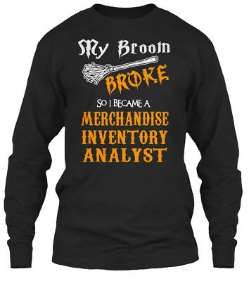 Must-have Merchandise Inventory Analyst - Sry Gildan Long Sleeve Tee T-Shirt