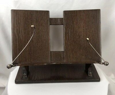 Vintage Mid Century Modern Faux Wood Book Display Stand Designcraft Detroit