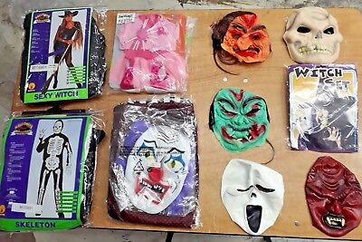 Halloween Fun Box 3 - 10 Items including Costumes & Masks
