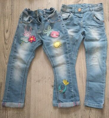 Next Girls x2 Jeans - 3-4 Years