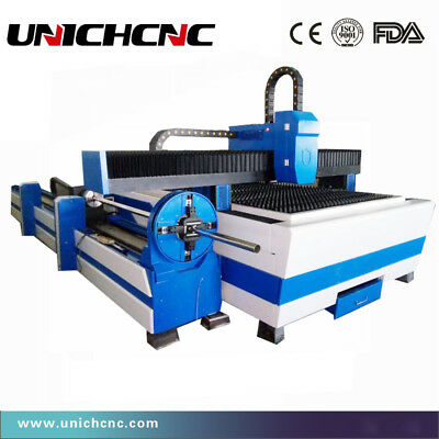 High steady square pipe fiber laser cutting machine