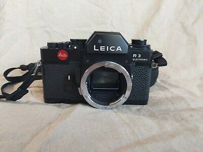 Leica R3 - Body Only - mechanical 35mm film camera with a silky smooth shutter