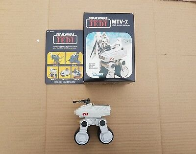 Star Wars Kenner Return Of The Jedi  Mtv-7 Imperial Assault Vehicle & Box