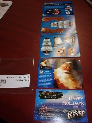 Pirates CSG : Pirates of the North Pole: WHITE BEARD HOLIDAY SHIP LHH005 - New!