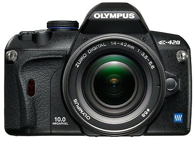 Olympus E-420 SLR-Digitalkamera (10 Megapixel, LifeView) Kit inkl. 17.5-45mm Obj