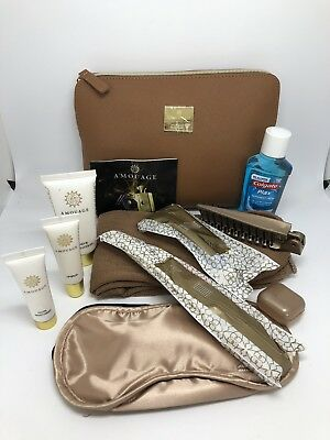 OMAN AIR, Business Class,  Amouage,Amenity Kit ,Kulturbeutel