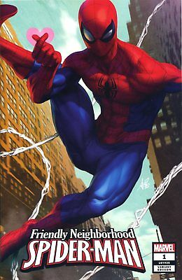 Friendly Neighborhood Spider-Man #1 Artgerm Var - Marvel Comics - G882