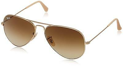d02affdc5c9 Ray-Ban RB3025 112 85 Aviator Gold Frame Brown Gradient 58mm Lens Sunglasses