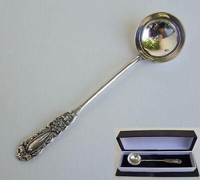 LOUCHETTE CUILLER à MOUTARDE ARGENT MASSIF Vintage Mustard Spoon Sterling Silver