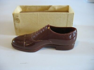 Vtg MINIATURE John C.Roberts Shoe Co. plastic model sample advertising premium
