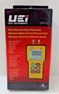 UEi Test Instruments EM152 Dual Differential Digital Manometer