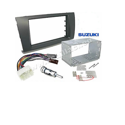 Kit Mascherina autoradio per SUZUKI SWIFT  dal 2005 2 DIN plancia