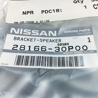 NEW Nissan OEM 300ZX Z32 Non-Bose Speaker Bracket FRONT RIGHT 28166-30P00