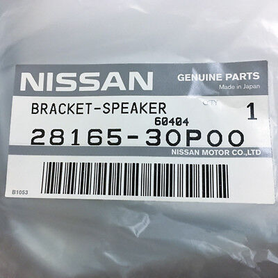 NEW Nissan OEM 300ZX Z32 Non-Bose Speaker Bracket Adapter REAR LEFT 28165-30P00