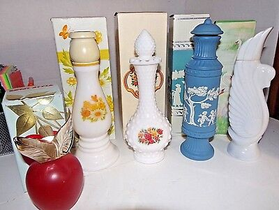 Lot Of 5 Avon Vintage Cologne New In Boxes / All Full