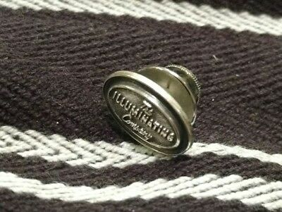 The Illuminating Company Vintage Lapel Pin STERLING SILVER