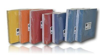 Rhino Popular School Class A5 Exercise Books Ruled / Squared Notebooks Options..