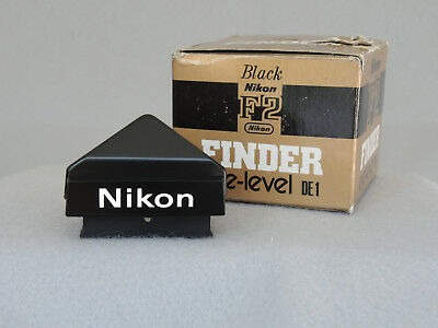 Nikon Mint DE-1 Finder Black for F2 with Box