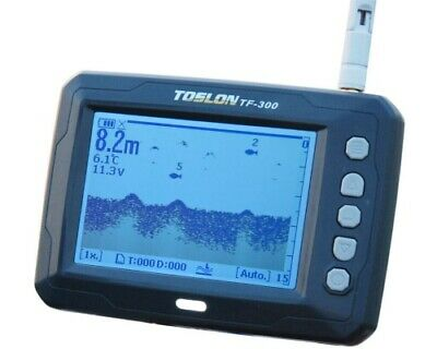 Toslon TF300 Funk Echolot für Futterboote - Wireless Echosunder for Baitboats
