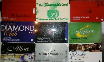 Lot of 25 Expired Casino Players Clubs Cards, IL, IA, IN, NV, LA, WI, MI