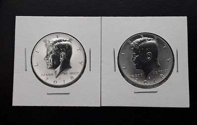 2018 S Silver Kennedy Reverse Proof ERROR/LIGHT FINISH ~ Error Coin ONLY